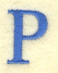 Rho Small embroidery design