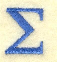 Sigma Small embroidery design