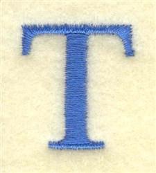Tau small embroidery design