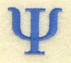 Psi Small embroidery design