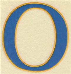 Omicron Large Applique embroidery design