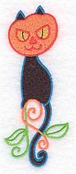 Pumpkin Head embroidery design