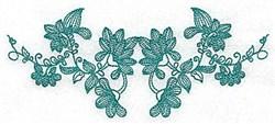 Heritage Vine embroidery design