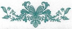 Heritage Leaf embroidery design