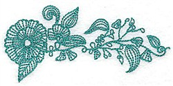 Heritage Plant embroidery design
