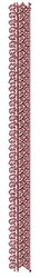 Border Henna embroidery design