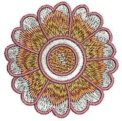 Blossom Henna embroidery design