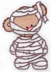Mummy Bear embroidery design