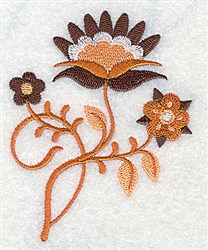 Petals & Blooms embroidery design