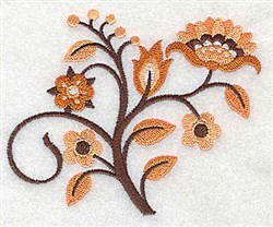 Flower Spray embroidery design