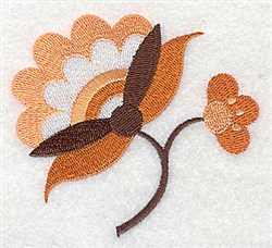 Pretty Petals embroidery design