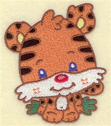 Tiger Cartoon embroidery design