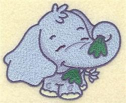 Elephant Cartoon embroidery design