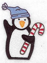 Penguin Toque embroidery design