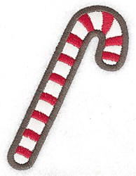 Candycane embroidery design