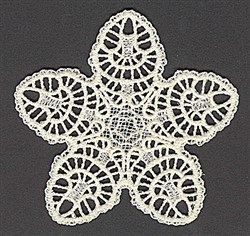 FSL Star Lace embroidery design