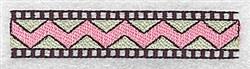 Zigzab Border embroidery design