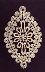 Lace Diamond embroidery design