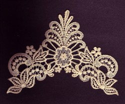Vintage Lace Design embroidery design