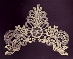 Lace Embellishment embroidery design