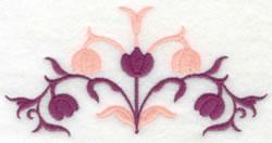 Partial Tulip Design embroidery design