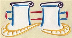 Ships Mooring Applique embroidery design