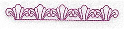 Swirl Border embroidery design