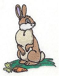 Hoppity Bunny embroidery design