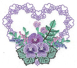 Heart Of Heart embroidery design