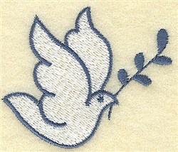 Dove embroidery design
