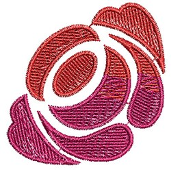 Rose Scrollworks embroidery design