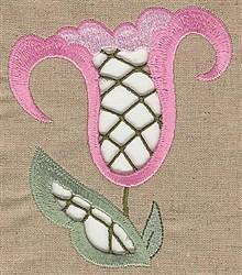 Cutwork Bloom embroidery design
