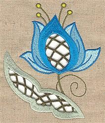 Cutwork Petals embroidery design