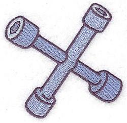 Tire Iron embroidery design