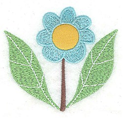 Flower Applique embroidery design