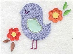 Bird Applique embroidery design