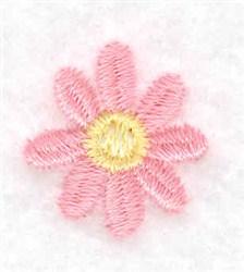 Single Daisy Bloom embroidery design