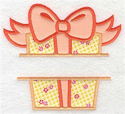 Double Applique Frame embroidery design