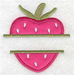 Strawberry Applique embroidery design