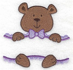Teddy Frame embroidery design