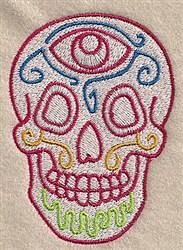 Skull Design embroidery design