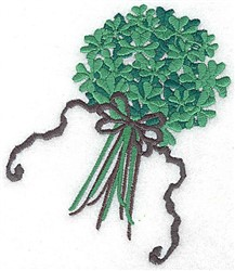 Shamrock Bouquet embroidery design