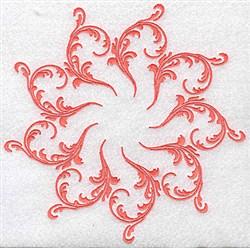 Fancy Swirls embroidery design