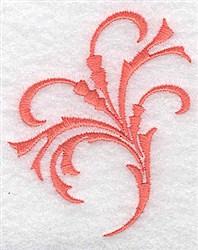 Fancy Swirl embroidery design