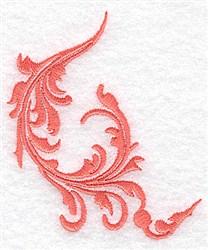 Delicate Swirl embroidery design