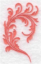 Romantic Swirl embroidery design