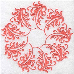 Fancy Circle embroidery design