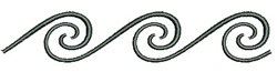 Southwestern Swirls embroidery design