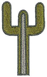 Southwestern Cactus embroidery design