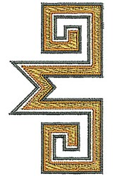 Border Southwestern embroidery design